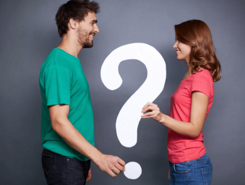Какие можно задать вопросы парню про отношения между вами