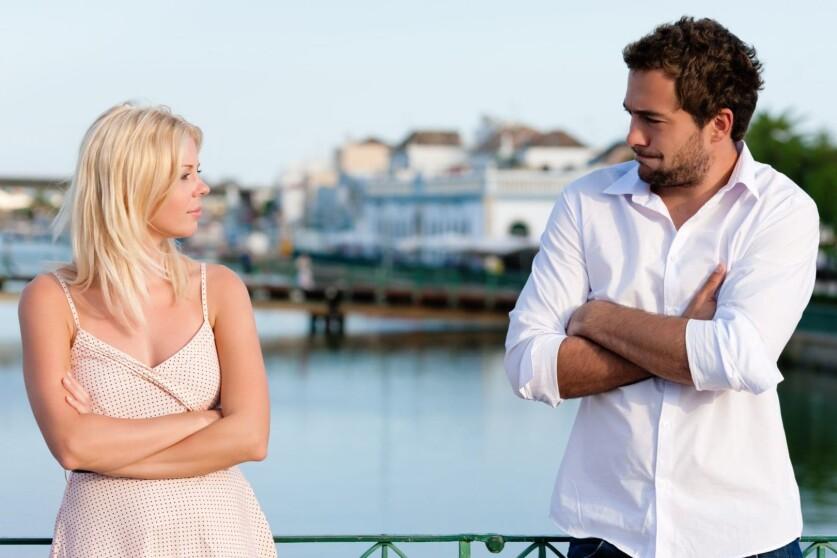 Разговор с парнем об отношениях, которые рушатся