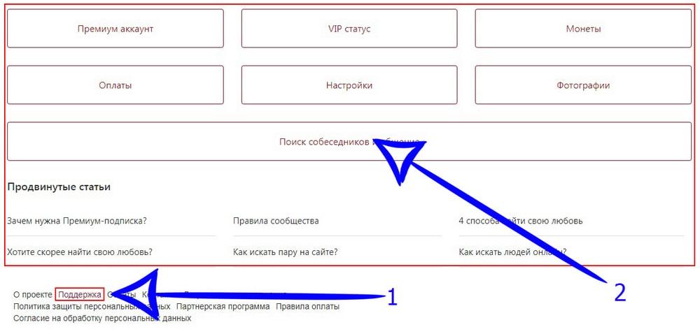 Техподдержка сайта Navsegda
