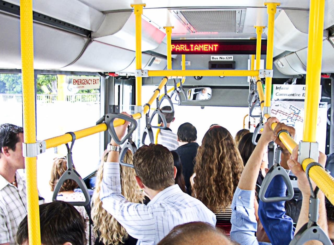 Полный автобус