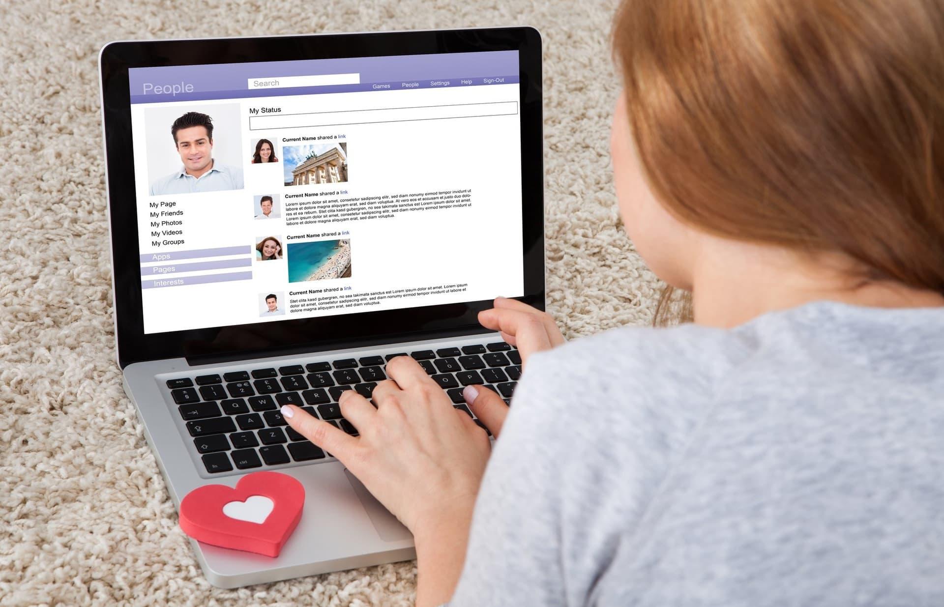 Общение в сети интернет