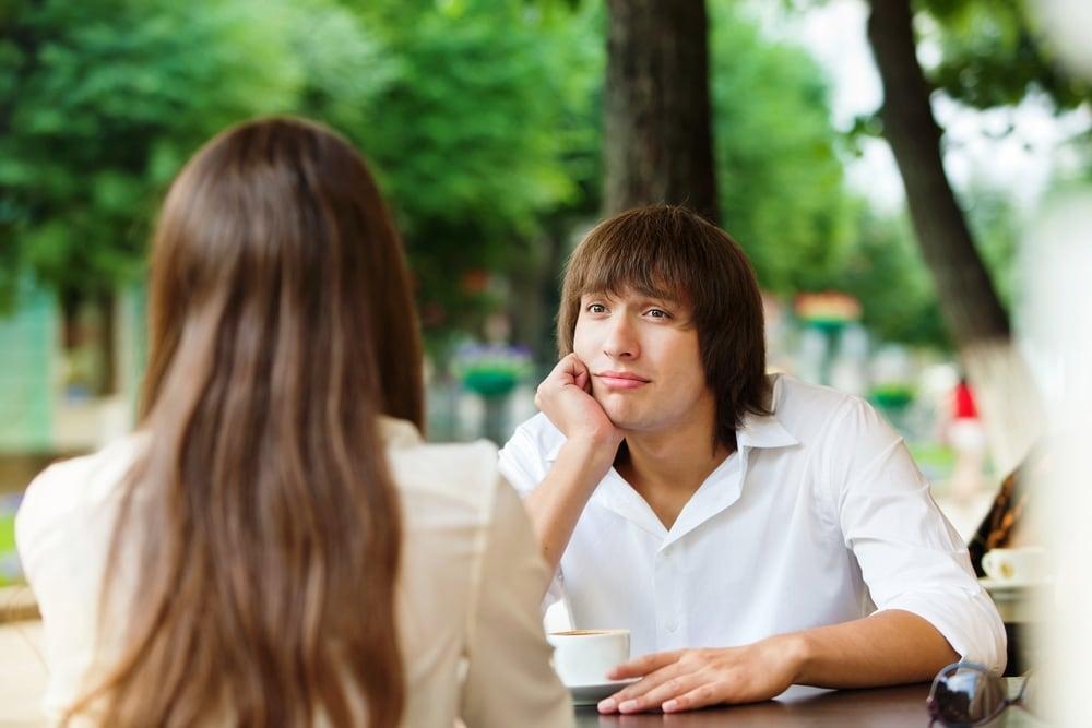 Разговор молодых людей