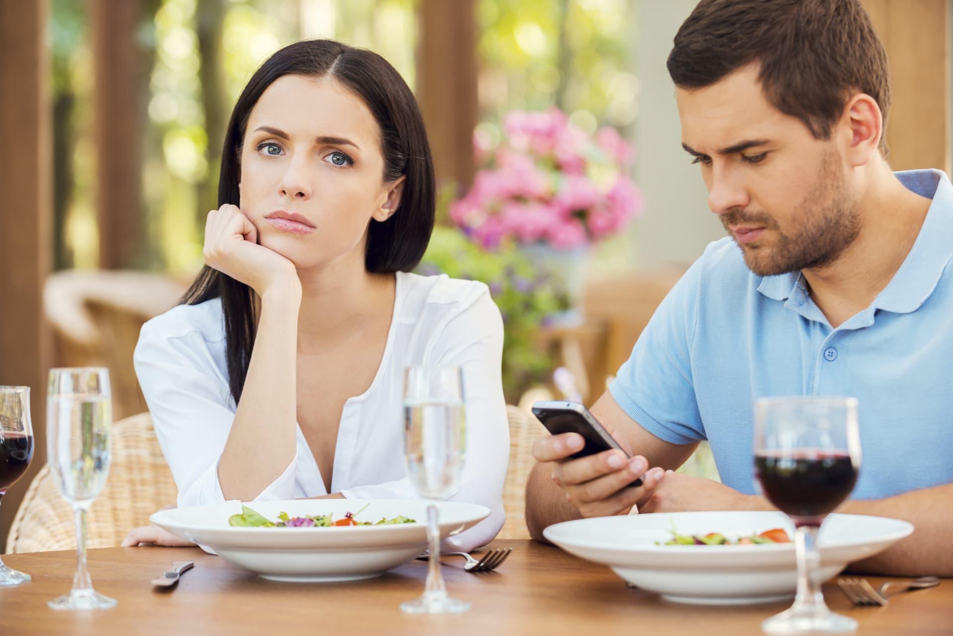 Беседа мужчины и женщины