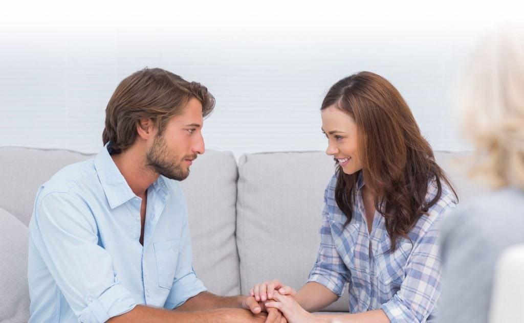 Разговор женщины и мужчины