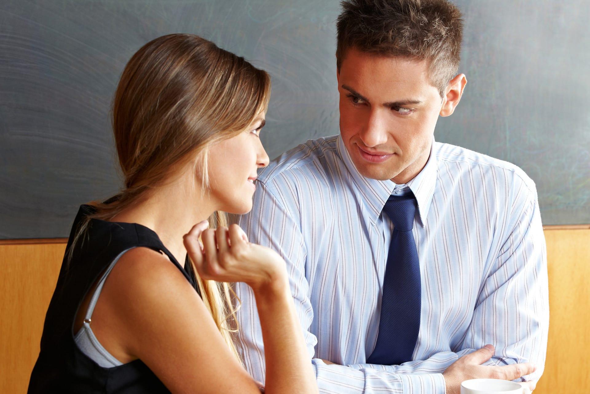 как определить отношение мужчины к себе по взгляду