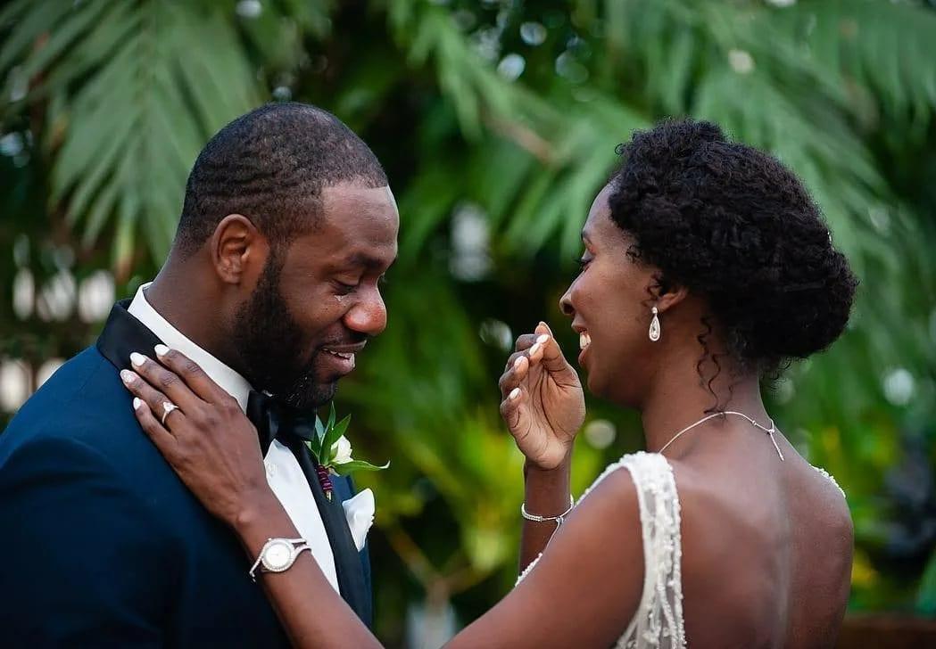 африканские мужчины в паре