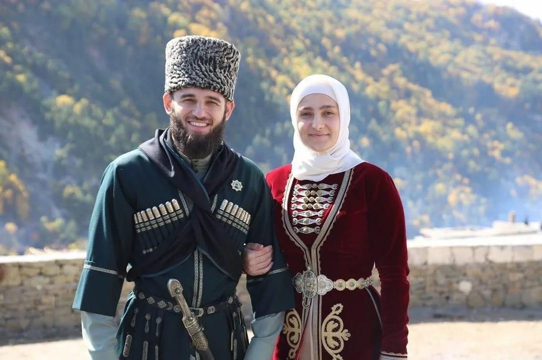 чеченская пара