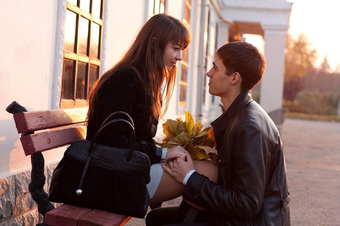 Девушка влюбилась