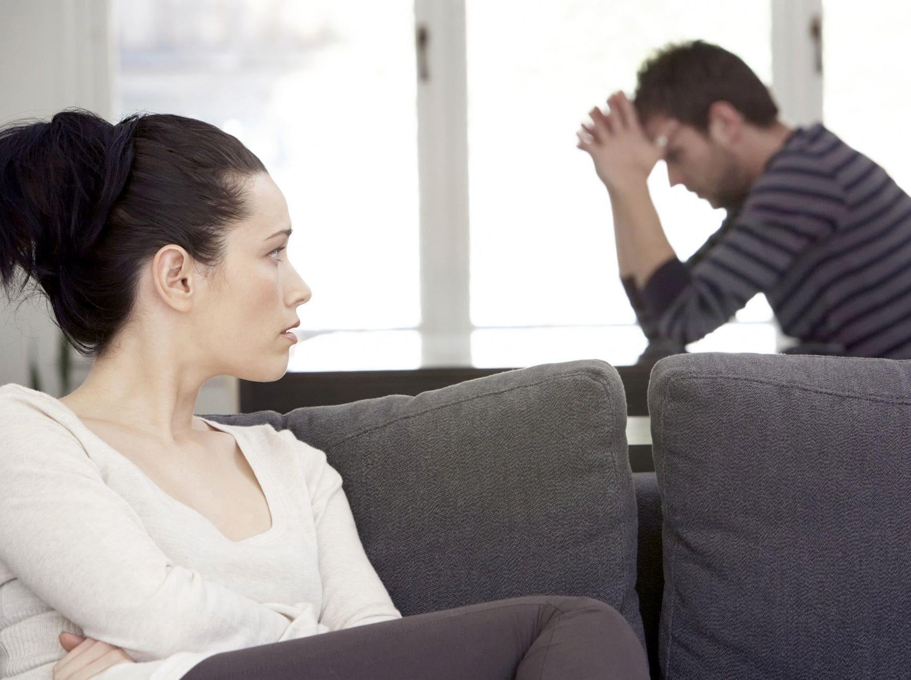 Ссора мужчины и женщины