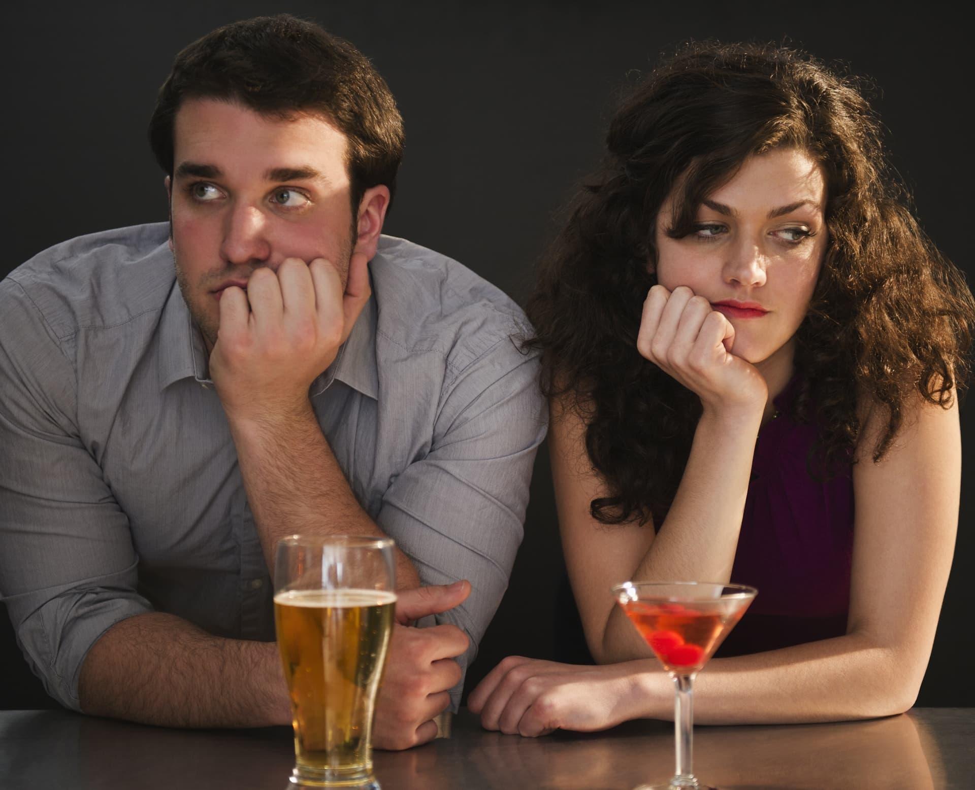 Мужчина и женщина на свидании
